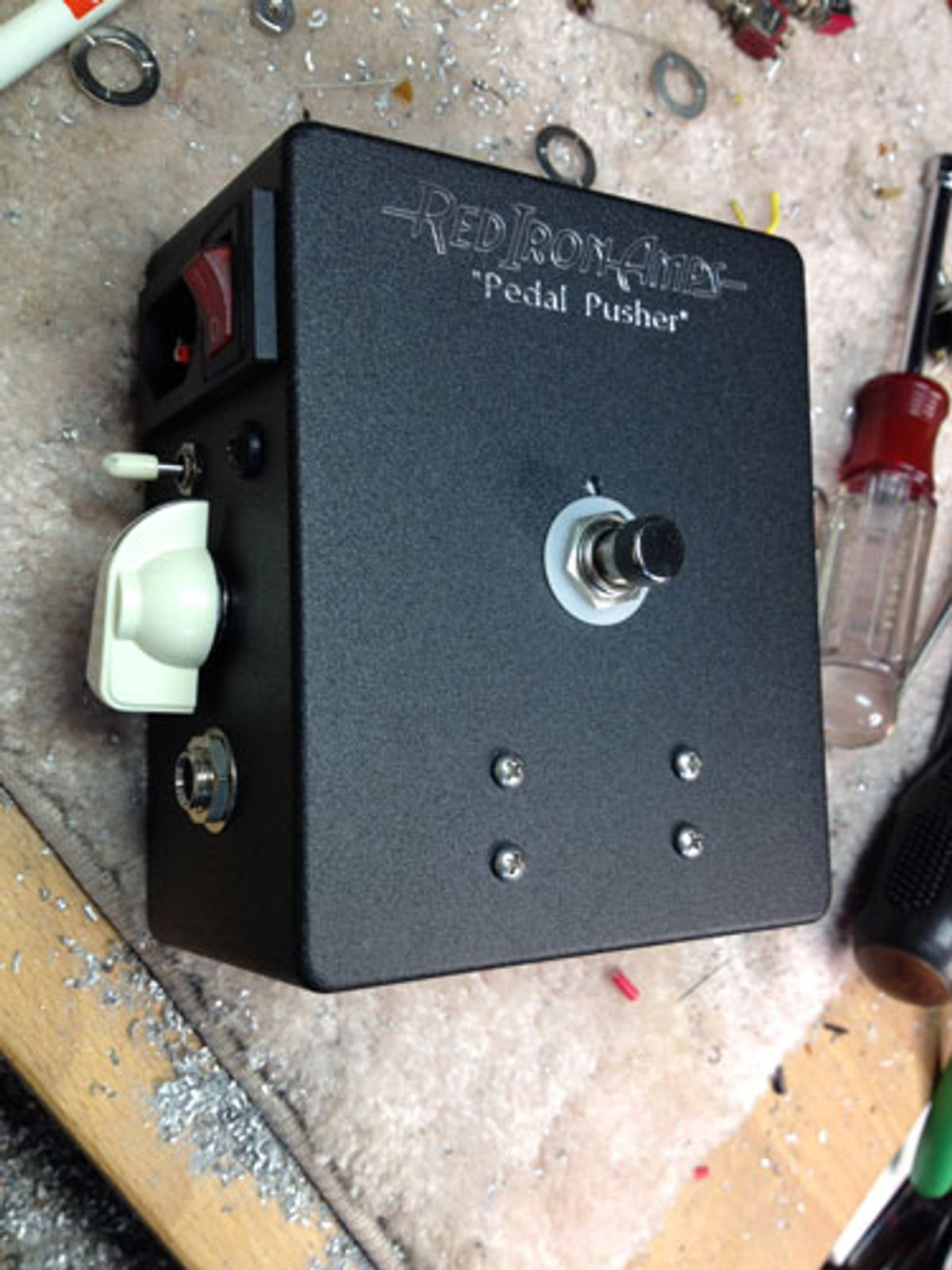 Red Iron Amps Introduces the Pedal Pusher