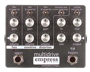 Empress Effects Releases Multidrive Pedal