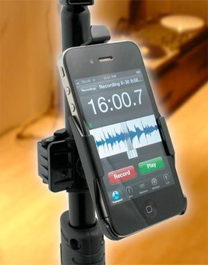 Primacoustic Launches TelePad-4 iPhone Mic Stand Adaptor
