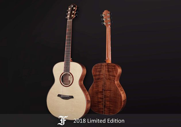 Furch Introduces the Furch Limited 2018 Acoustic Guitar