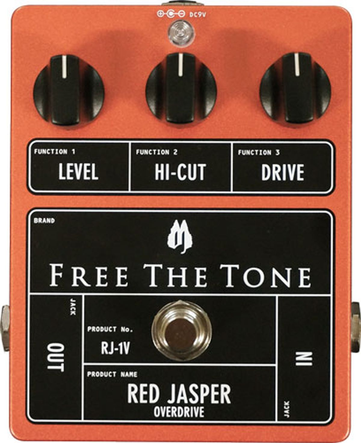 Free The Tone Introduces the Red Jasper Overdrive