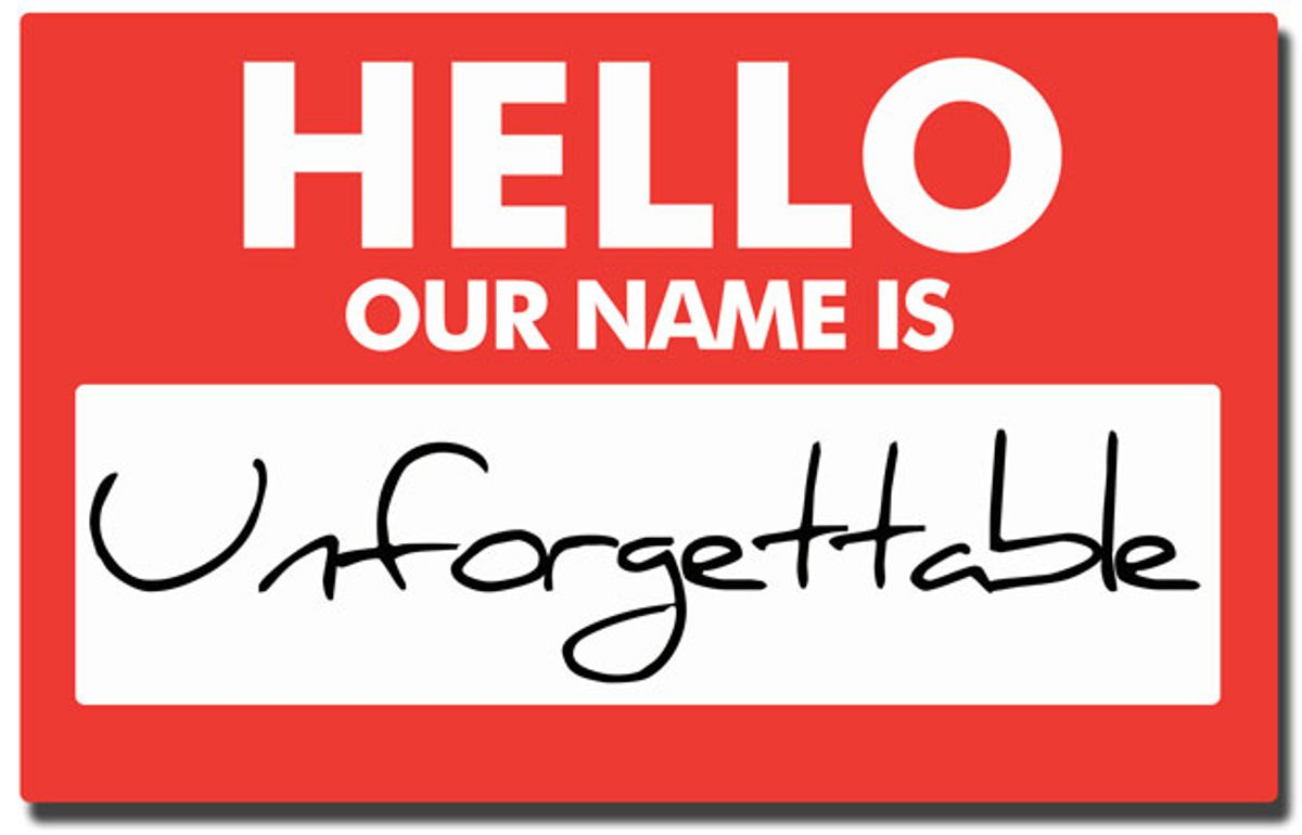 Last Call: What's in a Name?
