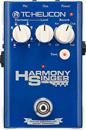 TC-Helicon Releases Harmony Singer Pedal