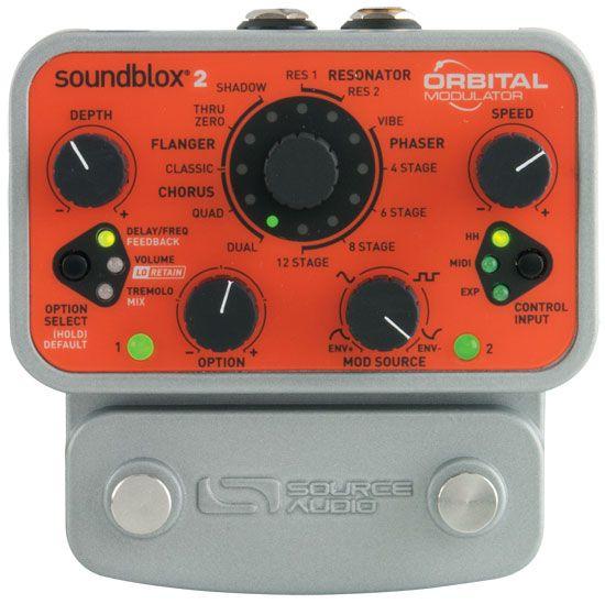 Source Audio Orbital Modulator Pedal Review