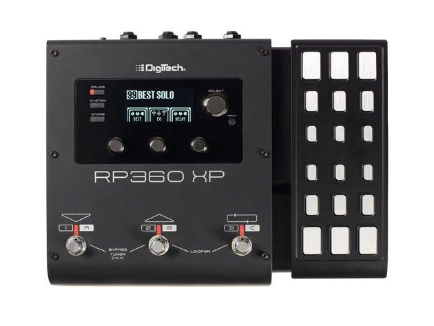 DigiTech Announces RP360 and RP 360 XP Multi Effects Pedals
