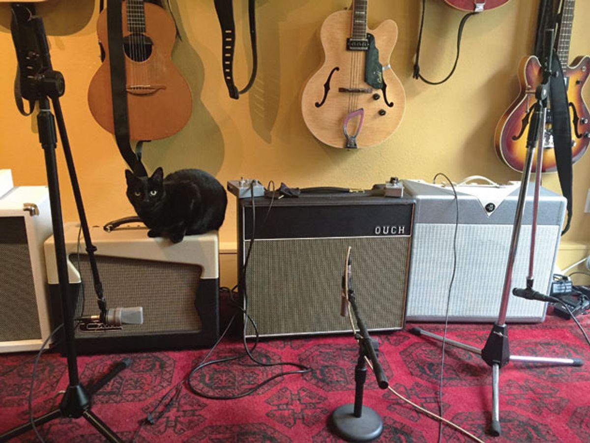 The Recording Guitarist: How to Prepare a Delicious Amp Sandwich