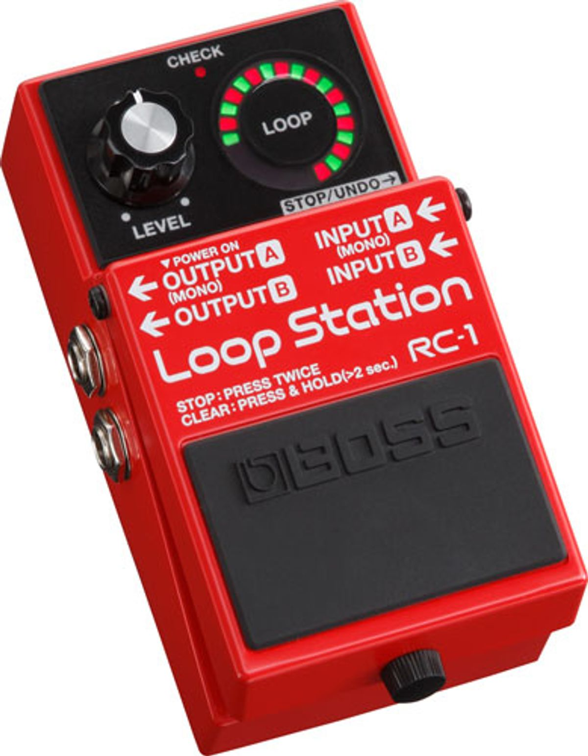 Boss Releases the RC-1 Loop Station