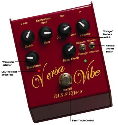 DLS Effects Versa Vibe Pedal Review