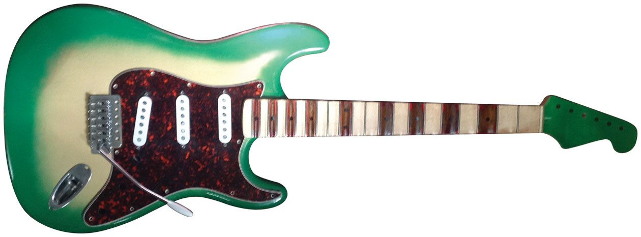 Reader Guitar of the Month: Greenie