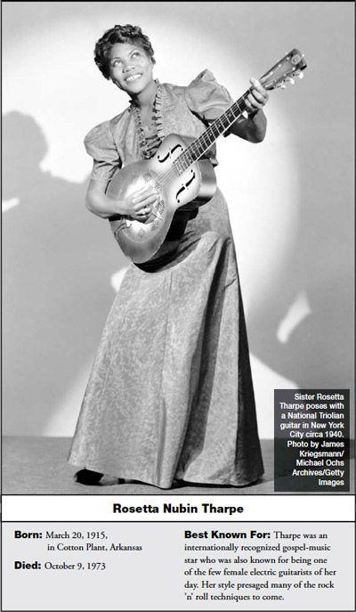Forgotten Heroes: Sister Rosetta Tharpe