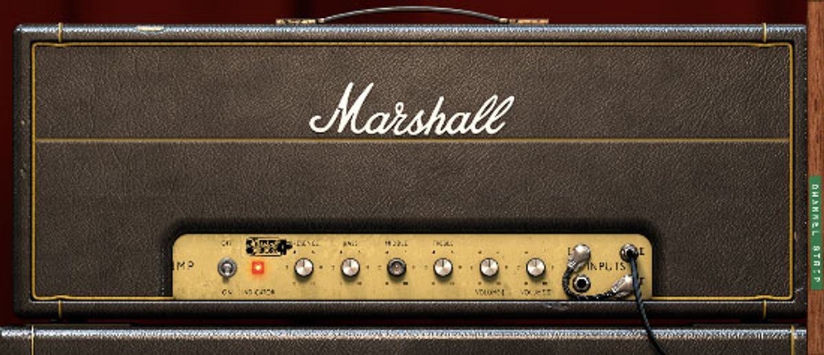 "Universal Audio Unveils the Marshall ""Plexi"" Super Lead Plug-In"