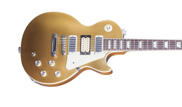Gibson Announces Limited-Edition Pete Townshend Gold Top '76 Les Paul