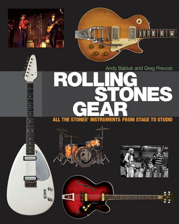 """Backbeat Books Publishes """"Rolling Stones Gear"""""""