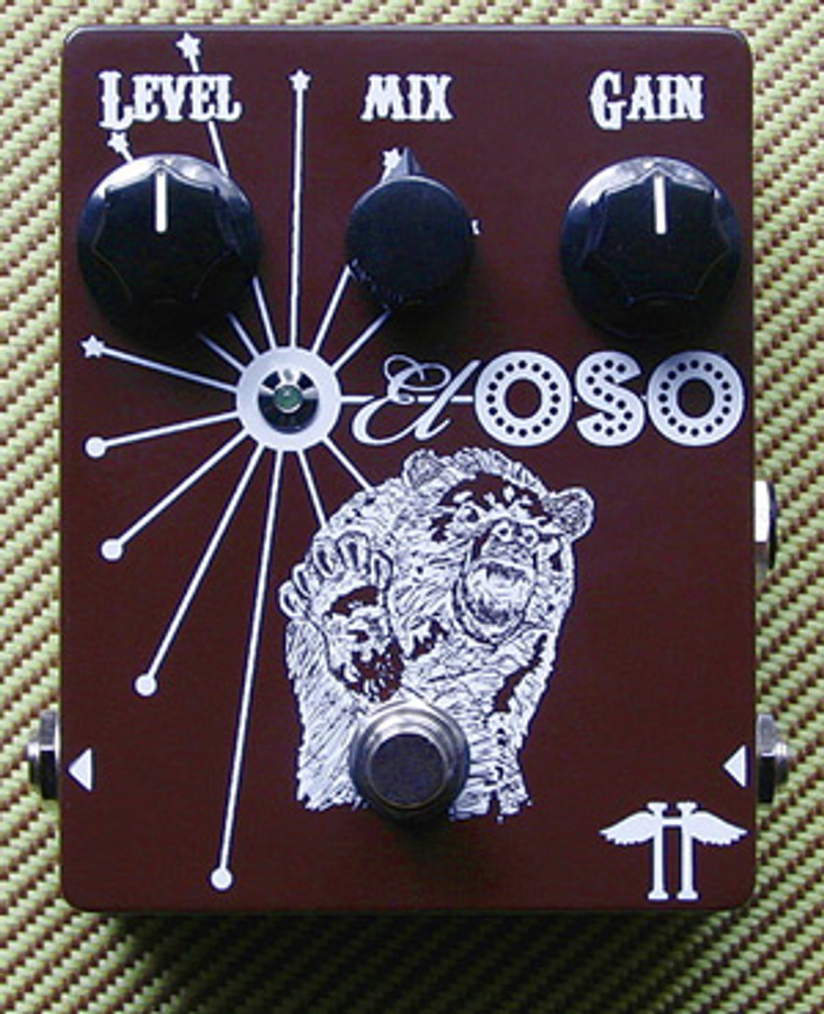 Heavy Electronics Releases El Oso Distortion Pedal
