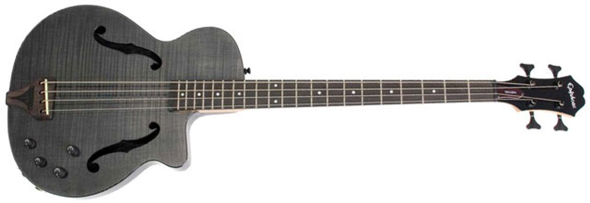 Epiphone Zenith Fretted Acoustic/Electric Bass Review
