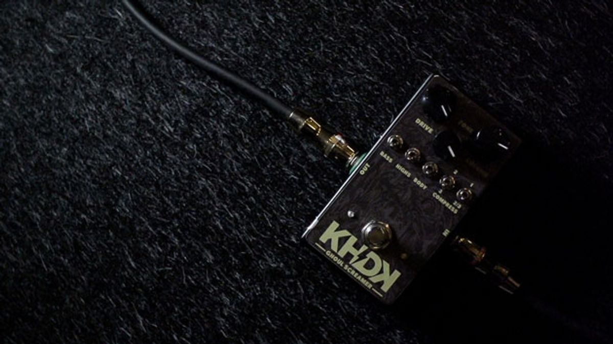 KHDK Electronics Unveils the Ghoul Screamer