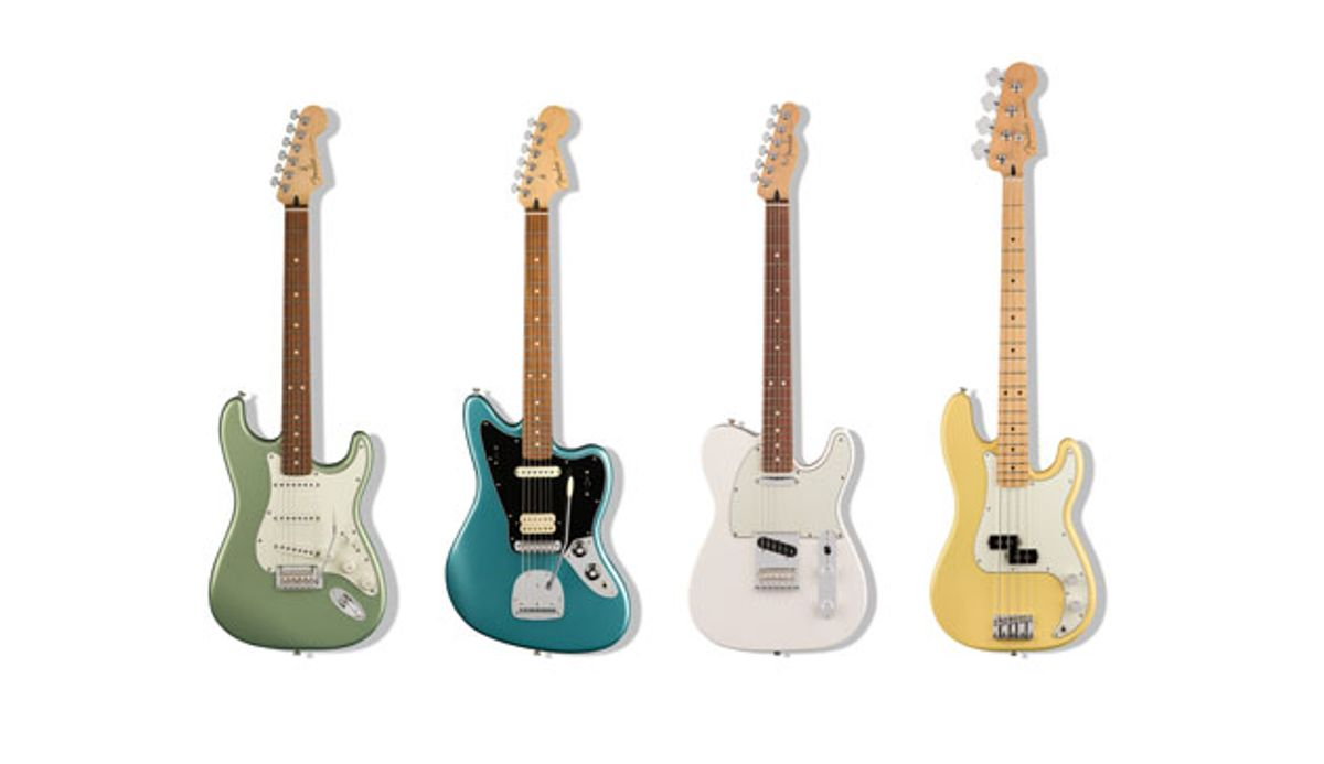 Fender Introduces the Player Series