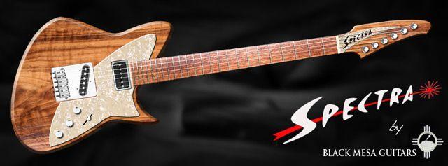 Black Mesa Introduces Spectra Guitar