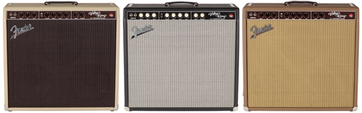 Fender Introduces the 20th Anniversary Edition Vibro-King Amp