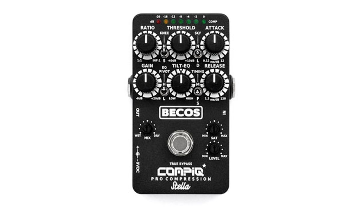 Becos Effects Releases the CompIQ PRO Stella Compressor