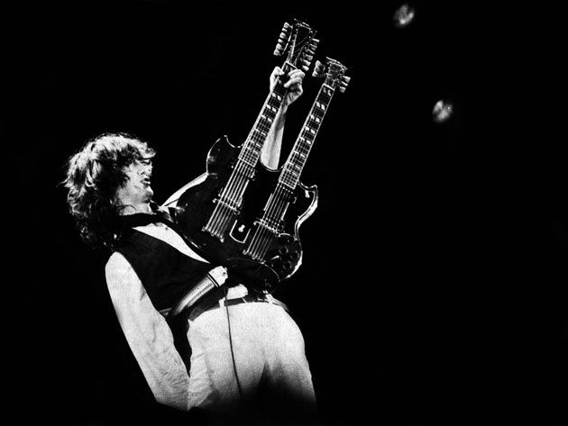 The Live Side of Jimmy Page