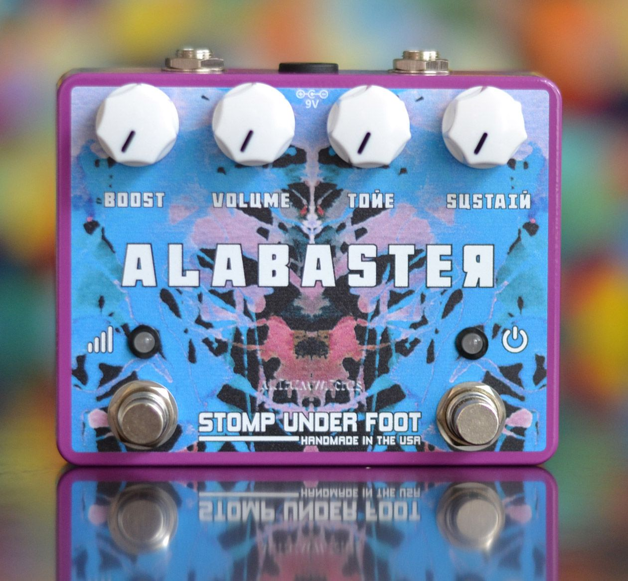 Stomp Under Foot Introduces the Alabaster Fuzz