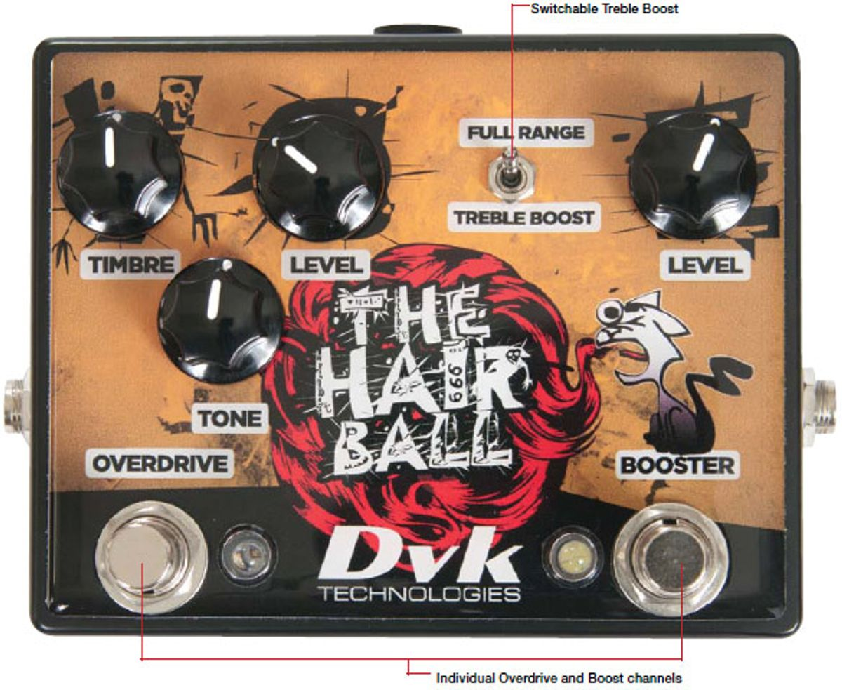 DVK Technologies The Hair Ball Pedal Review