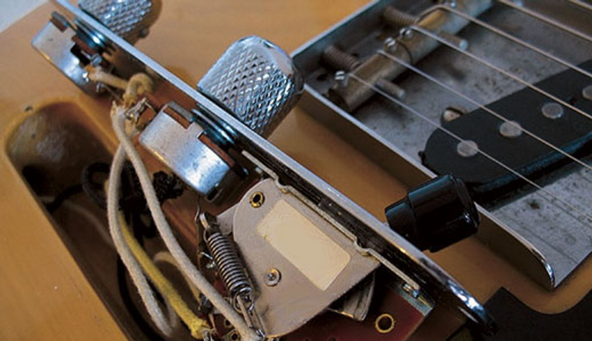 Mod Garage: How to Wire a Stock Tele Pickup Switch