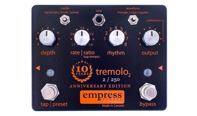Empress Effects Unveils 10th Anniversary Tremolo