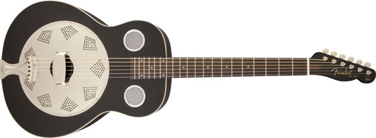 Fender Unveils New Resonators and FA-300CE Acoustic-Electric Pack