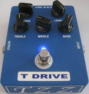 TomasZewicZ Amplifiers Announces TZZ T Drive Pedal