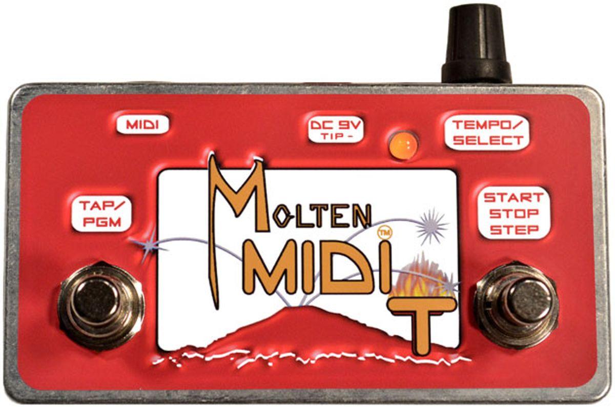 Molten Voltage Releases the Molten MIDI T