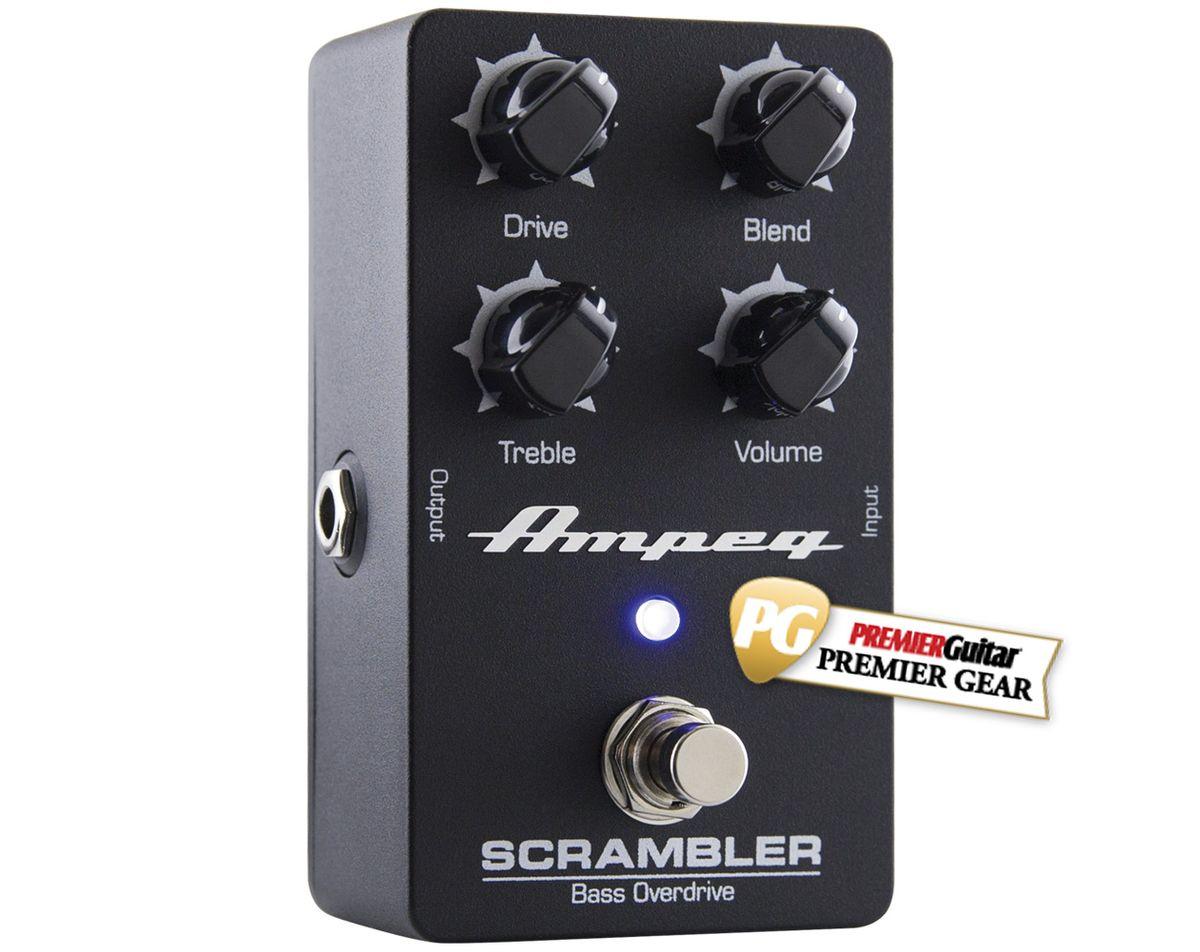 Ampeg Scrambler Bass Overdrive Review