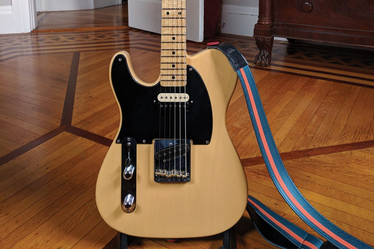 Reader Guitar of the Month: Theseus Tele
