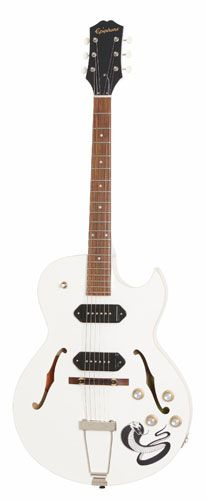 Epiphone Presents Ltd. Ed. George Thorogood White Fang ES-125TDC Outfit