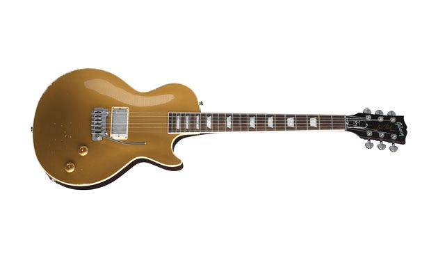"Gibson Announces the Joe Perry ""Gold Rush"" Les Paul Axcess"
