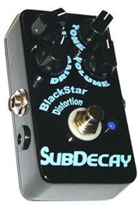 Subdecay Blackstar Distortion Pedal