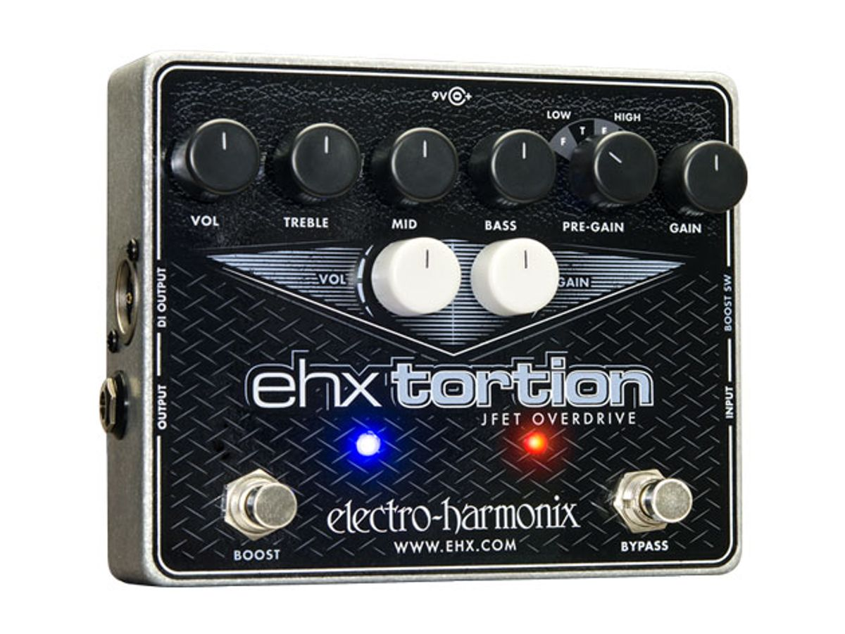 Electro-Harmonix Introduces the EHX tortion, Holy Grail Max, and Satisfaction Fuzz