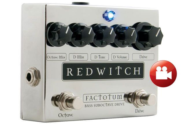 Red Witch Factotum Suboctave Bass Drive Review