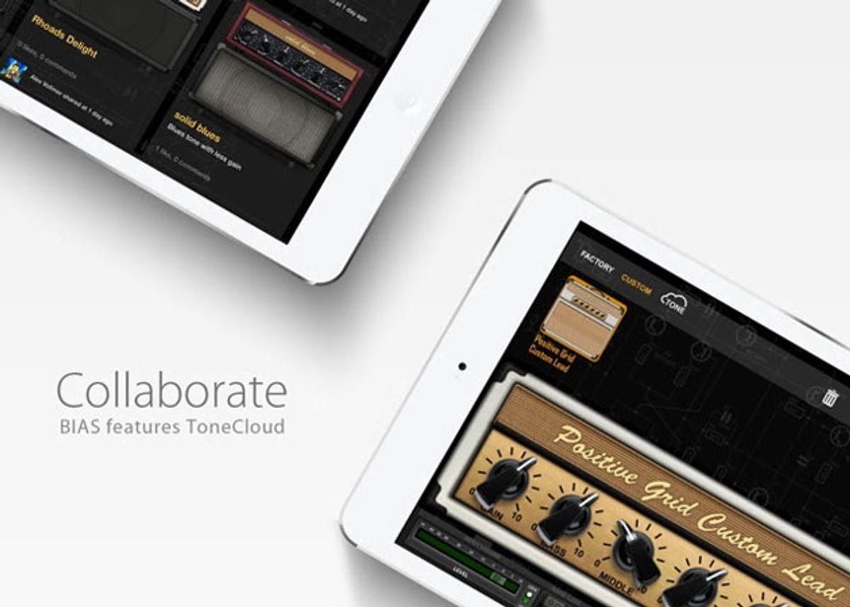 Positive Grid Unveils ToneCloud