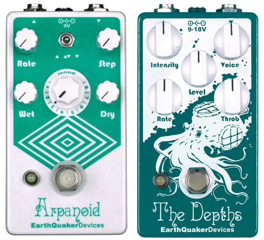 Earthquaker Devices Announces Arpanoid and The Depths Pedals
