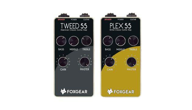 Foxgear Unveils the Tweed 55 and Plexi 55
