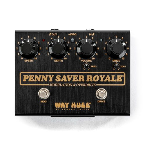 Way Huge and Joe Bonamassa Unveil the Penny Saver Royale Modulation & Overdrive