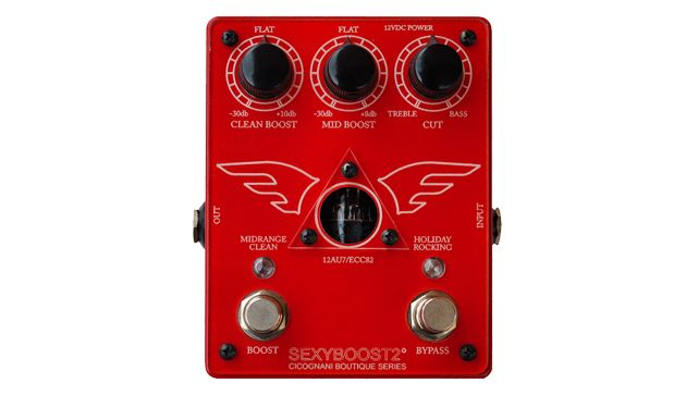 Cicognani Engineering Releases the SexyBoost2 Dual Channel Tube Booster