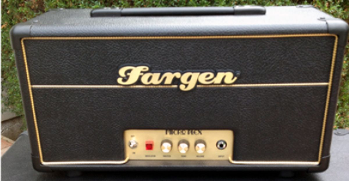 Fargen Amplification Introduces the Micro Plex Amp