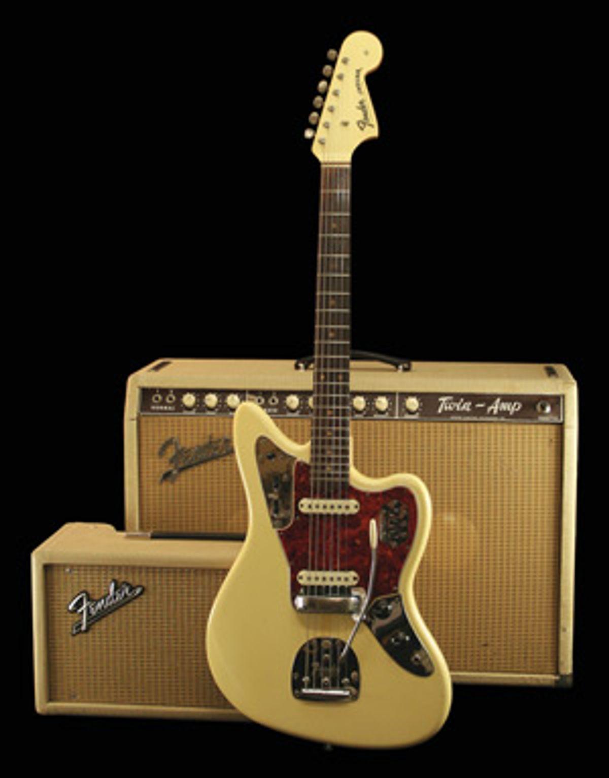 1963 Fender Twin-Amp Model 6G8-A
