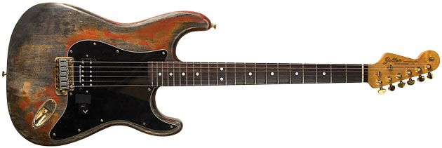 Reader Guitar of the Month: Zoller Partscaster