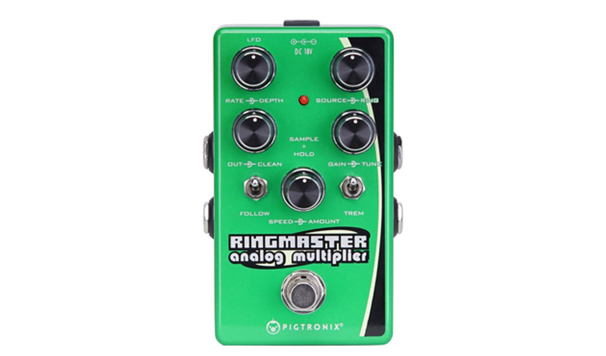 Pigtronix Introduces the Ringmaster Ring Modulator Synth Pedal