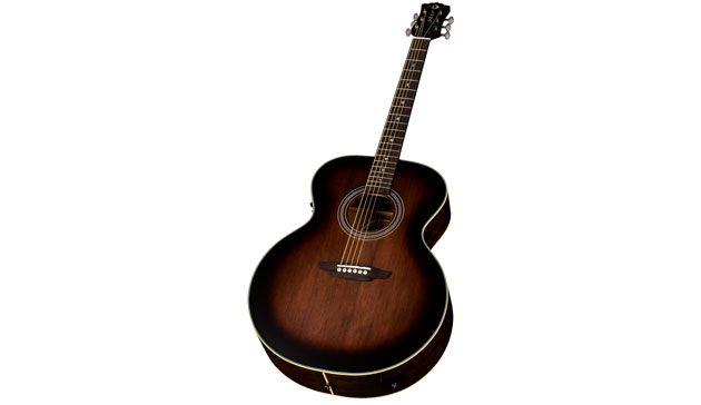 Luna Guitars Unveils the Art Vintage Jumbo