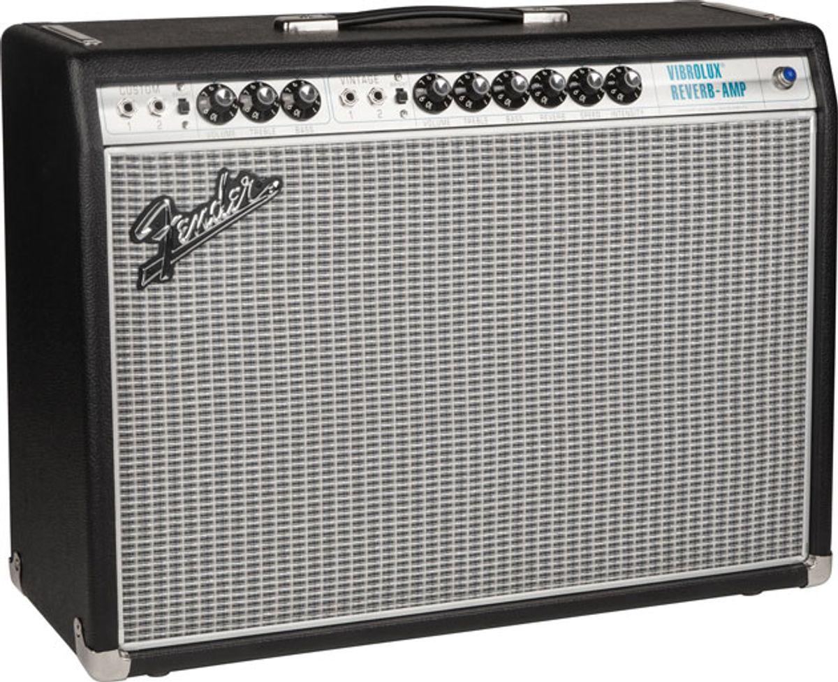 Fender Releases Vintage Modified '68 Custom Vibrolux Reverb